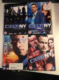 CSI:NY New York DVD Boxset Complete American TV Drama Television