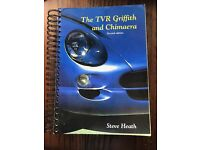 """The TVR Griffith and Chimaera second edition by Steve Heath - """"The Bible"""""""