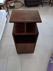 Vintage Real Wood Sidetable