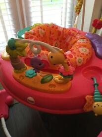 Brand New Fisher Price Pink Jumperoo