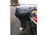 Yamaha 8hp short shaft outboard motor 2016