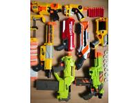 JOB LOT NERF GUN BUNDLE (all working)