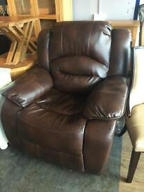 New**Brown reclining armchair ONLY £160 -- More available!!!