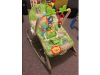 Fisher Price Rocker Chair, Baby to Toddler