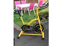 Bargain spinning bike