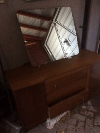 For sale. Wooden dressing table