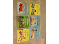 6 childrens books - Usborne farmyard tales and usborne phonics readers, excellent condition