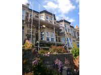Wanted: help to dismantle scaffolding