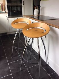 Italian Designer Bar/Kitchen Stool - By Lyra Magis