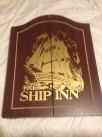 The Ship Inn Iconic dart Cabinet