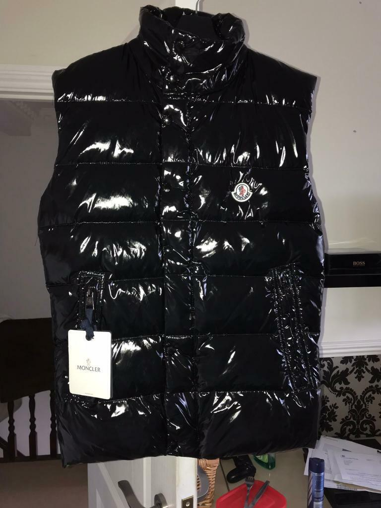 c3b10facb Brand New Moncler Men's Tib Gilet - Black - Size Small - Authentic - Unused  with Original Tags | in Lenton, Nottinghamshire | Gumtree
