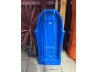 BLUE Plastic Sledge