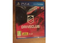 Driveclub PS4 game £10 perfect condition