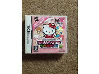 Hello kitty and friends ds game