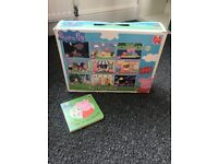 Peppa pig 9 puzzles and board book