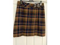 Women's tartan mini skirt, Size 14 from Country Rose Colour