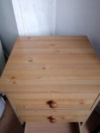 Bedside cabinet.