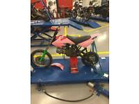 140 pit bike rough project