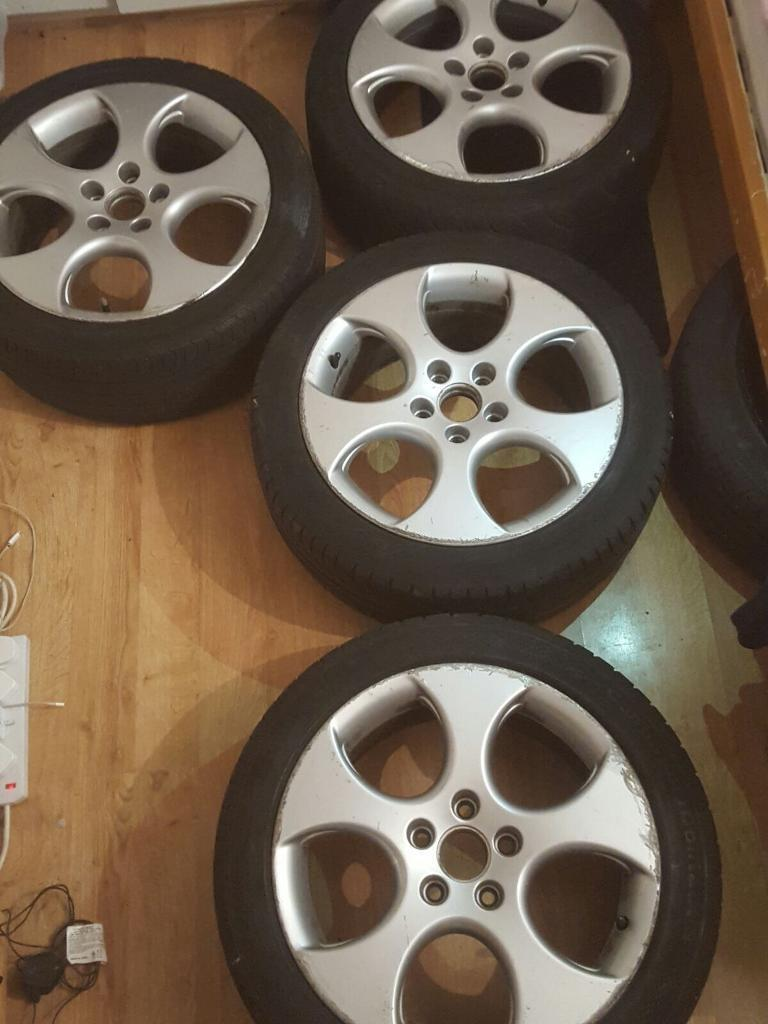 Mk5 golf gti monza alloy wheels 280