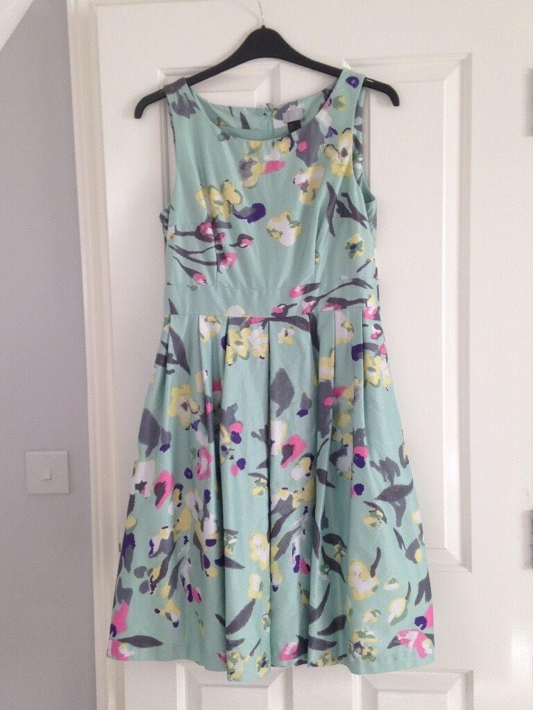 H&M vintage floral swing dress