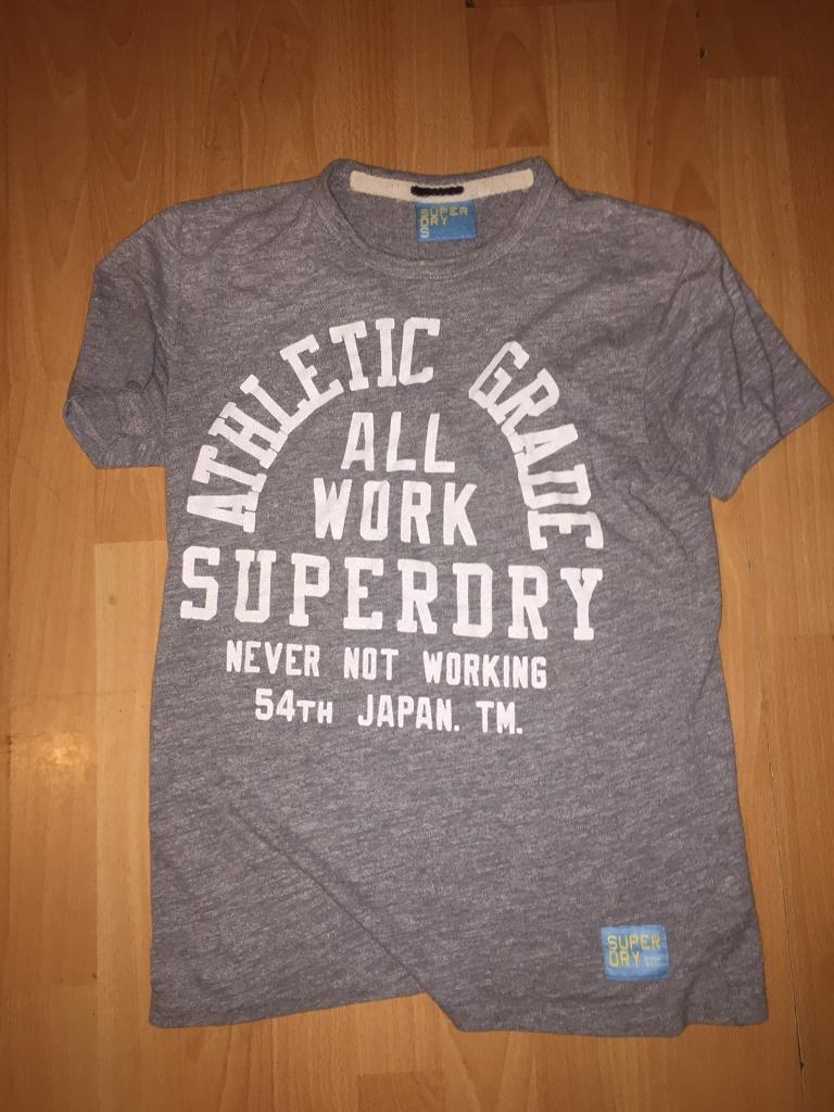 SuperDry T-shirt Size Small Smoke free home Fantastic Condition millbrook oos