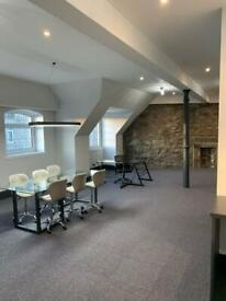 Beautifully refurbished furnished office to let. Excellent city centre location