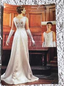Ivory Satin wedding dress size 14
