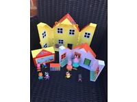 Peppa pig toys lot