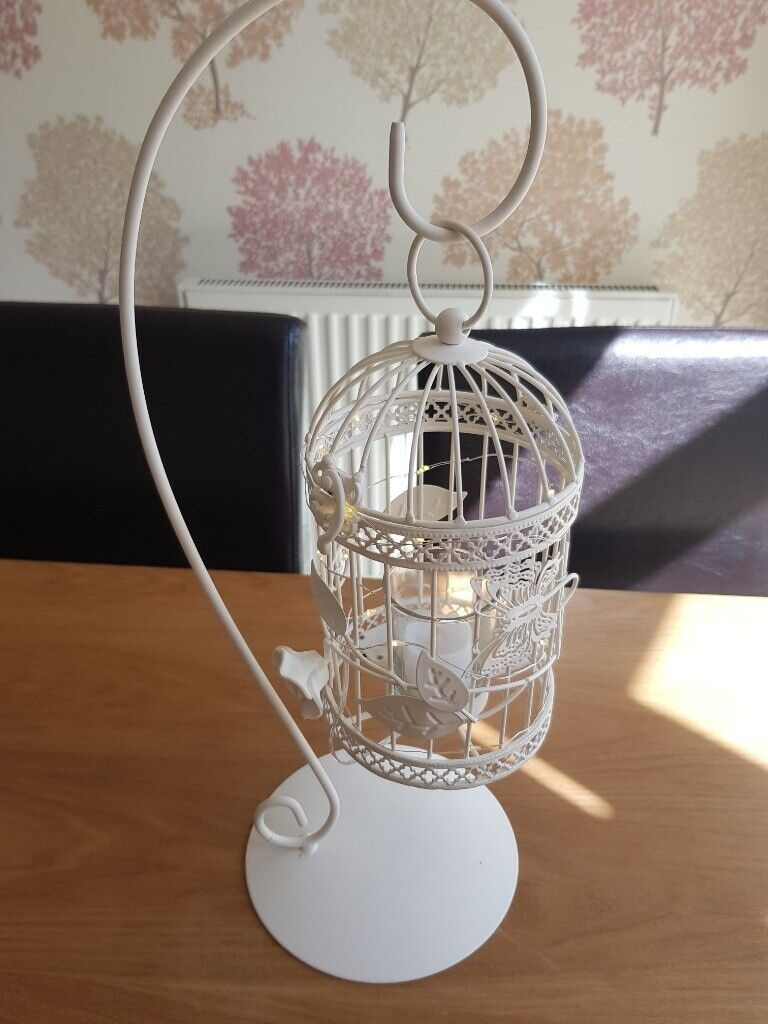 Decorative Birdcage Candle Holder Set Of 2 Home Decor Wedding Or