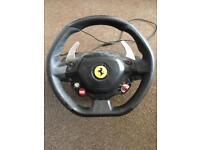 Xbox Ferrari 458 Italia thrusmaster