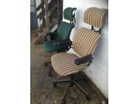 Refurbished human scale freedom chairs