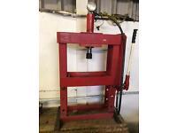 Sealey 10t hydraulic bench press