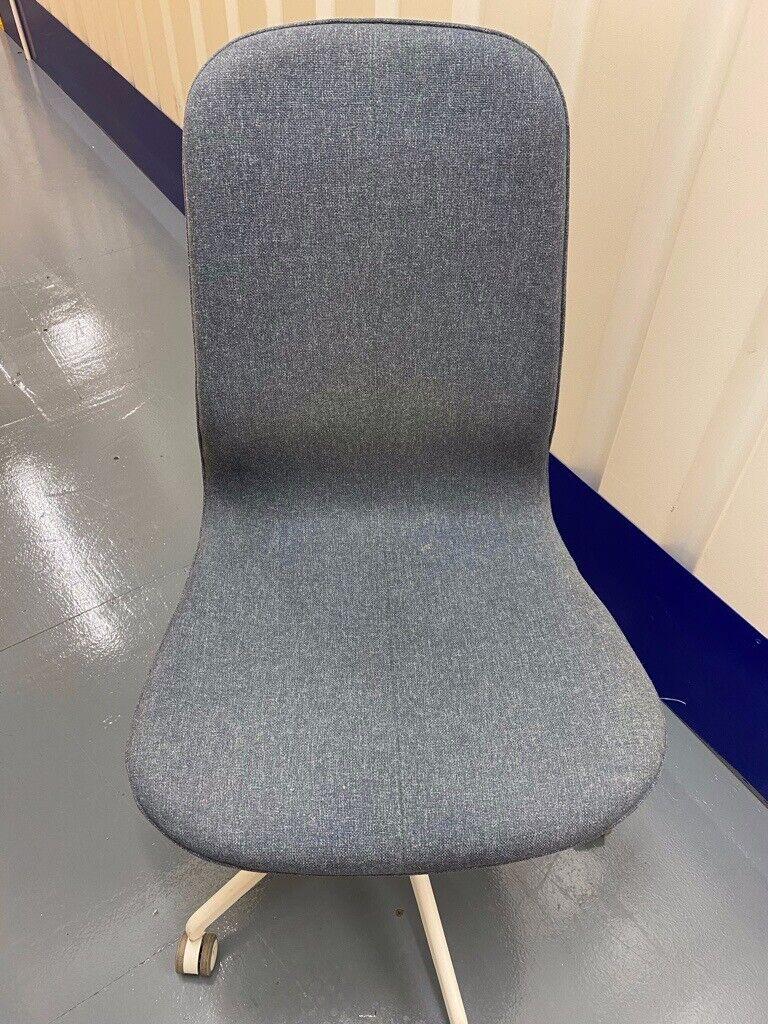 Ikea Langfjall office chair Gunnared Blue | in Islington, London | Gumtree