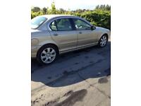 2004 Jaguar X-Type 2.0 Diesel with private plate