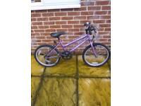 """Universal lambarder 20"""" wheel girls bike in good condition"""
