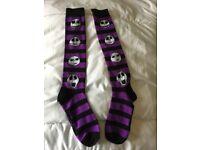 Long Jack Skellington socks