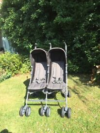 Mamas and Papas Kato Twin Pushchair (Excellent condition)