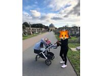 Uppababy Vista with Buggy Board