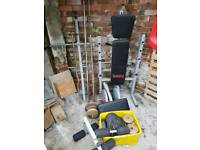 York weight bench multi gym