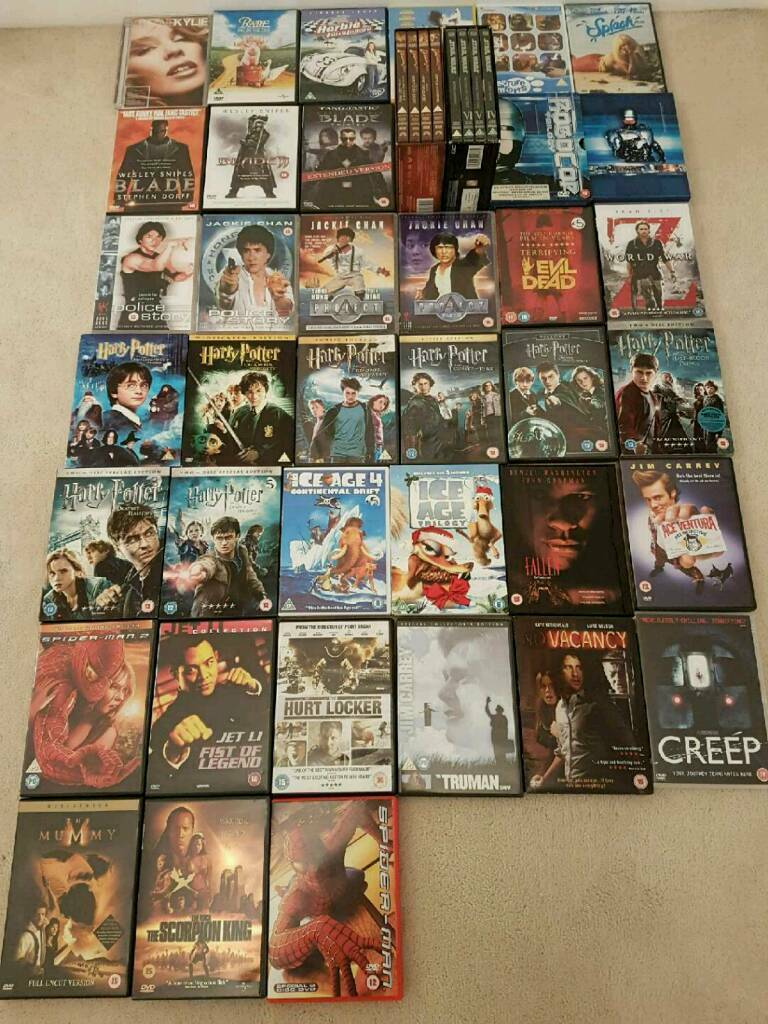 47 × DVDS collection OFFERS WECOME