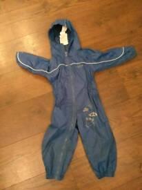 Puddlesuit rain suit waterproof 18-24 months