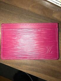 Louis Vuitton Leather card holder