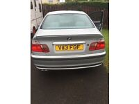 Sliver V reg BMW 323i, 12 months MOT, full service history, full leather interior