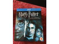 Harry Potter 8 film blu ray collection