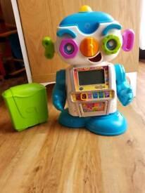 Vtech Gadget Robot Learning Pal as New