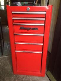 Snap on tool box.