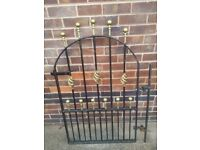 Thick Heavy Duty Wrought Iron Gate
