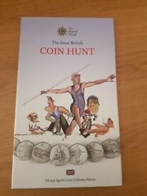 The Great British Coin Hunt 50p Sports Album