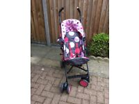 Cosatto push chair as new
