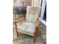 Parker Knoll vintage chair needs TLC